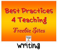 Great FREE Resources from various contributors!  http://writing.bestpractices4teaching.com/
