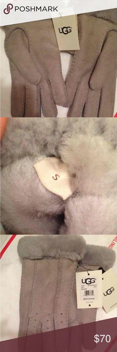 Grey Ugg Gloves Size small ugg gloves very comfortable and warm UGG Accessories Gloves & Mittens