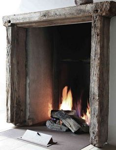 Cosy around the fire place