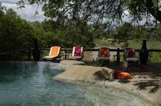 Activities include exciting bush walks and game drives while a stunning swimming pool and spectacular terrace overlooking the river invite for a relaxing time.