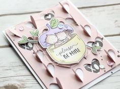 by Stephanie Gold for Neat and Tangled My Favorite Nut stamps and dies