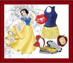 disney-princess-costumes-women-diy-snow-white-running-costumes