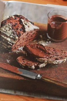 Chocolate and currant sourdough bread in  Emmanuel Hadjiandreou's 'How to make bread'
