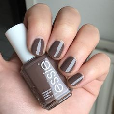 Essie - Don't Sweater It Essie Nail Polish Colors, Nail Colors, Colours, Mani Pedi, Manicure And Pedicure, Beauty Ideas, Makeup Inspiration, Hair And Nails, Nail Art Designs