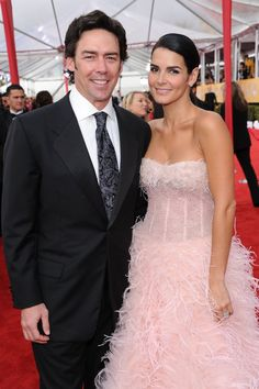 Pin for Later: It's Over: The Biggest Celebrity Breakups of 2014 Angie Harmon and Jason Sehorn