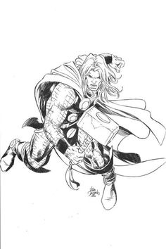 Thor by Mike Deodato Jr. *