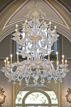 Stunning Chandelier at Villa d'Este, Lake Como, Italy. Elegant Lighting, Beautiful Chandelier, Beautiful Lights, Chandelier Lamp, Chandelier Lighting, Murano Chandelier, Beautiful Lighting, Chandelier, Fancy Lights