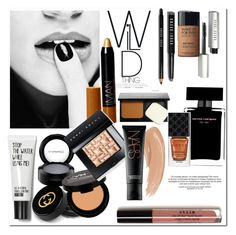 """""""Winter make up.."""" by gul07 ❤ liked on Polyvore featuring beauty, Bobbi Brown Cosmetics, Gucci, MAC Cosmetics, NYX, MAKE UP FOR EVER, NARS Cosmetics and Narciso Rodriguez"""
