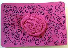 Espiral (model de plastilina o pasta de sal)