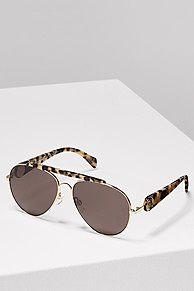 Achetez votre lunettes de soleil aviateur gigi hadid acheter la nouvelle  collection de lunettes de soleil ac3c4ba02476