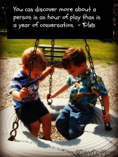 PlayDrMom highlights the Importance and Power of Play -  quote from plato