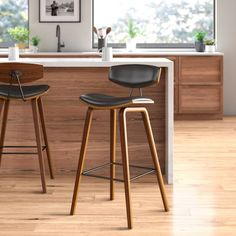Johnathan Bar & Counter Stool All The Counter Stools I Considered For the Mountain House KitchenAll The Counter Stools I Considered For the Mountain House KitchenSlope Leather Bar & Counter Stools Johnathan Bar & Counter