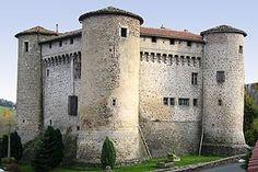 Chateau de Chalmazel Region Rhone Alpes Photo castle chateau fort