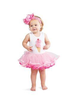 $17 Amazon.com: Mud Pie Baby-girls Newborn Ice Cream Tutu Dress: Clothing