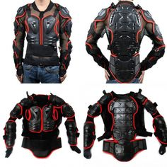 Motorcycle & Auto Racing Protective Armor / Jackets S-3XL 2 Colors multi functional sports protection clothing WOLFBIKE
