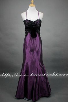 Long Strapless Mermaid Formal Purple soft satin Long Prom Dress , Wedding, Bridal, Honeymoon Dress,Prom Dress, Evening Gown,graduation gown by LAmei on Etsy