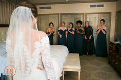 Alexandra + Brandon @fsdallas wedding   Navy Bridesmaids  Carter Rose, @f8studiowedding