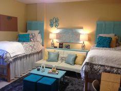 Ole Miss Dorm. Stewart Hall Corner Room by lesa