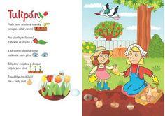Knihy | Obrázkové čtení | Obrázkové říkanky | Crayola, knížky, hry a tvoření Spring Activities, Activities For Kids, Jar, Teaching, Education, Biology, Kid Activities, Jars, Learning
