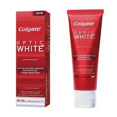 Colgate Optic White Gentle Whitening Toothpaste, Luminous Mint 110g – The Home Teeth Whitening Shop