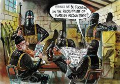 ISIS pprofessional development? Cartoon by Australia's David Rowe