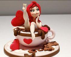 Pin up cake topper  by Donatella Bussacchetti