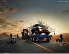 landcruiser advertising - Google zoeken
