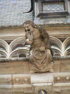 gargouille, château de Blois, Centre