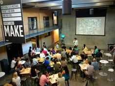 The introductory design thinking workshop for d.school fellows and others across Stanford.