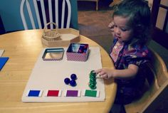 Montessori Christmas Activities for Toddlers - Matching Ornaments to Colored Tablets Montessori Toddler, Montessori Activities, Toddler Learning, Infant Activities, Christmas Activities For Toddlers, Christmas Colors, Preschool, Colour, Ornaments