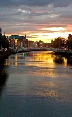 River Liffey, Dublin - Ireland  So loved my visit to Dublin