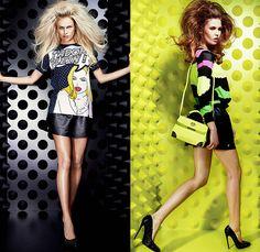 Philipp Plein 2015 Resort Womens Looks Presentation Denim Jeans, Spring Fashion, Fashion Show, Biker Shirts, Double Denim, Cut Off Jeans, Trends, Sheer Chiffon, Bubblegum Pink