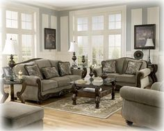 Martinsburg - Meadow Living Room Set