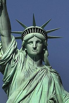 I've been to New York a few times, but haven't ever been able to go inside Lady Liberty.  #lifelongdream