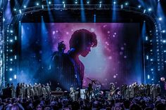 Lenny Kravitz - Rock and Roll Hall of Fame tribute to Prince, April 2016.