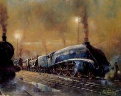 Train by Alan Fearnley