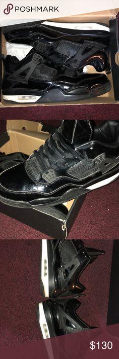 da49db74b7c Shop Men's Jordan Black White size 12 Sneakers at a discounted price at  Poshmark. Description: All black - Jordan - Box included (upon request).