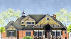 Thoughtful Touches - 35816WY | Craftsman, Northwest, Luxury, 1st Floor Master Suite, Bonus Room, Butler Walk-in Pantry, CAD Available, Den-Office-Library-Study, Jack & Jill Bath, Media-Game-Home Theater, PDF, Split Bedrooms, Corner Lot | Architectural Designs
