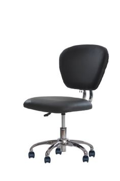 amazon: 2xhome - set of two (2) - black- eames modern high