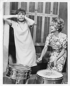 Lucy and Carol on The Lucy Show