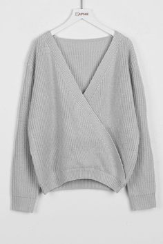 Cupshe Between You And V Cross Sweater