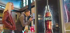 Coca-Cola crée un affichage à boire