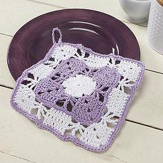 Snapdragon Dishcloth  ~ free pattern