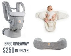 Ergobaby giveaway from Small Fry Blog!