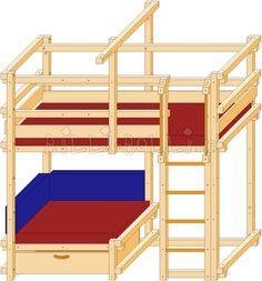Comfy Corner Bed