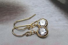 Unique Earrings, Etsy Earrings, Dangle Earrings, Unique Jewelry, Cool Gifts, Gifts For Her, Hoop, Diamond, Feminine