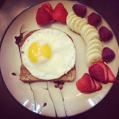 Ezekiel bread for breakfast makes us feel sunny side up!