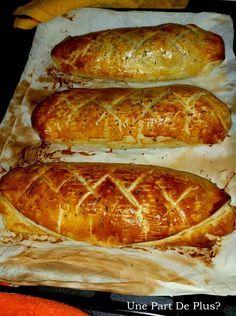 Filet mignon de porc chèvre/miel en croûte  