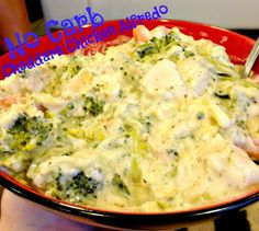 The Williams Family: Carb Free-Cheddars Inspired Chicken Alfredo