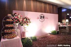 GUDY Wedding 婚禮設計 - 婚禮佈置♥W-Hotel 浪漫點心屋+Wedding Logo 這樣用